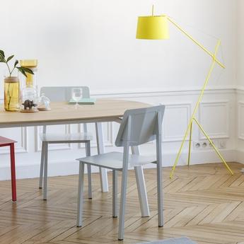 Lampadaire elisabeth jaune citron h158cm harto normal