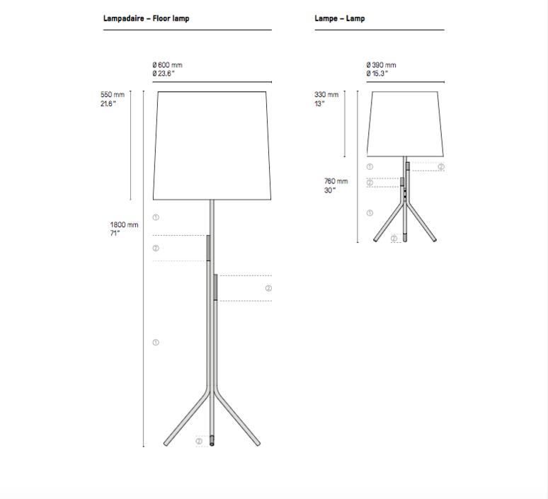 Ellis  lampadaire floor light  cvl ellis floor  design signed 53477 product