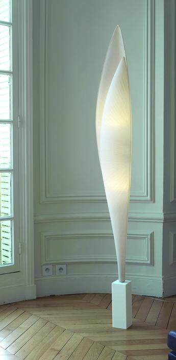 Lampadaire envol blanc h198cm celine wright normal
