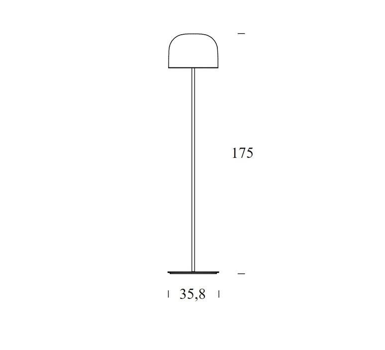 Equatore s gabriele oscar buratti lampadaire floor light  fontanaarte 4392 0nn   design signed 60066 product