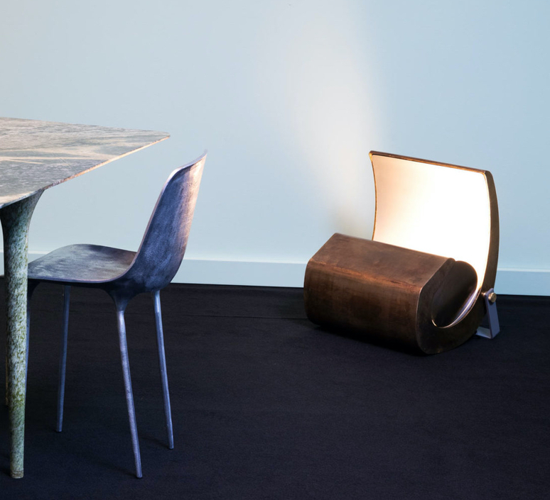 Escargot le corbusier lampadaire floor light  nemo lighting esc egg 11  design signed nedgis 110664 product