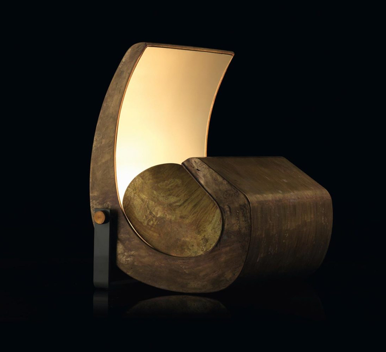 Escargot le corbusier lampadaire floor light  nemo lighting esc egg 11  design signed nedgis 110665 product