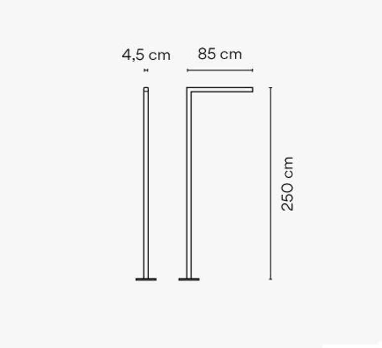 Meridiano 4710 jordi vilardell et meritxell vidal lampadaire floor light  vibia 471058 1  design signed nedgis 81705 product