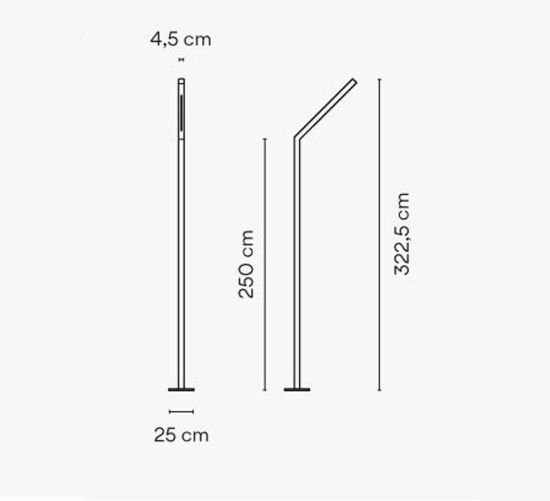Meridiano 4710 jordi vilardell et meritxell vidal lampadaire floor light  vibia 471058 1  design signed nedgis 81711 product
