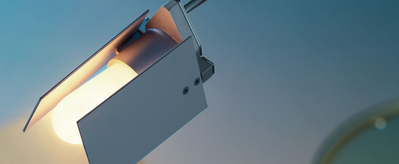 Lampadaire falena aluminium h120cm fontana arte normal