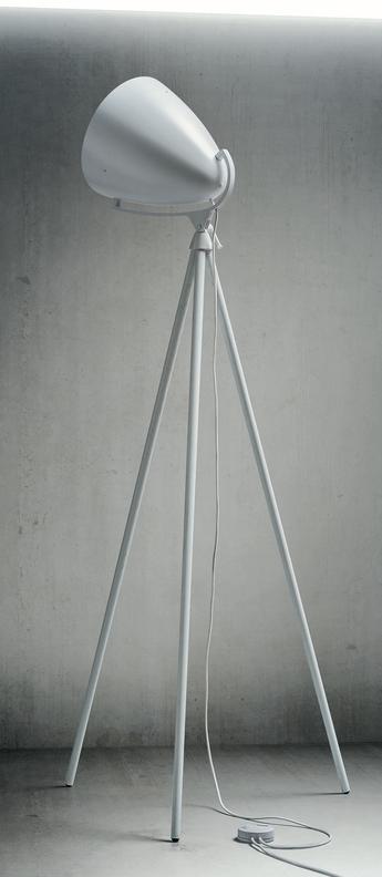 Lampadaire faro next blanc o90cm h205cm palluco normal
