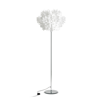 Lampadaire fiorella blanc o70cm h190cm slamp normal