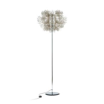 Lampadaire fiorella fume o70cm h190cm slamp normal