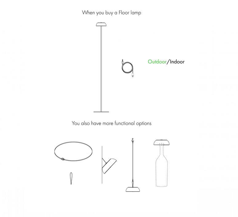 Float mario alessiani lampadaire floor light  axolight ptfloatxneneled  design signed nedgis 92705 product