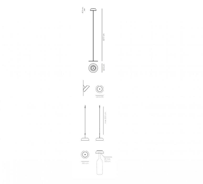 Float mario alessiani lampadaire floor light  axolight ptfloatxneneled  design signed nedgis 92706 product