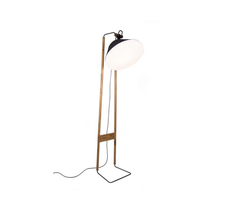 Floor natacha kopec et gary berche lampadaire floor light  kngb kngb floorgris3 chene huile  design signed nedgis 78123 product