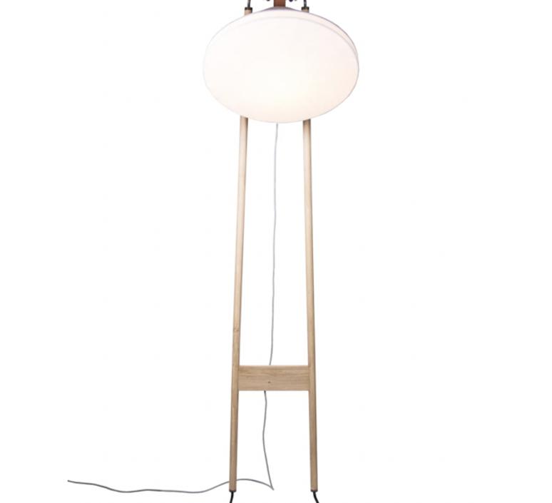Floor natacha kopec et gary berche lampadaire floor light  kngb kngb floorgris1 chene naturel  design signed nedgis 78138 product