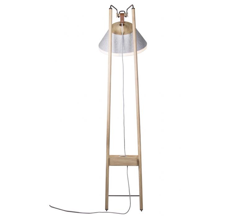 Floor natacha kopec et gary berche lampadaire floor light  kngb kngb floorgris1 chene naturel  design signed nedgis 78139 product