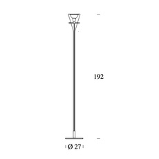 Flute franco raggi fontanaarte 3300 luminaire lighting design signed 20032 thumb