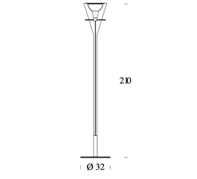 Flute franco raggi fontanaarte 3300 luminaire lighting design signed 65935 product