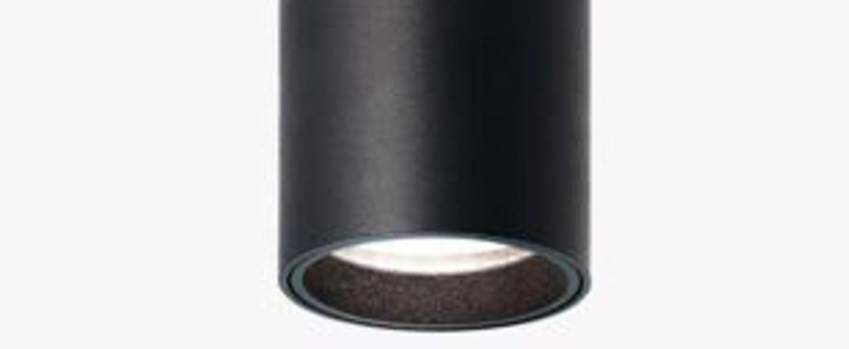 Lampadaire fox noir led 2700k 839lm l180cm h10cm nemo lighting normal