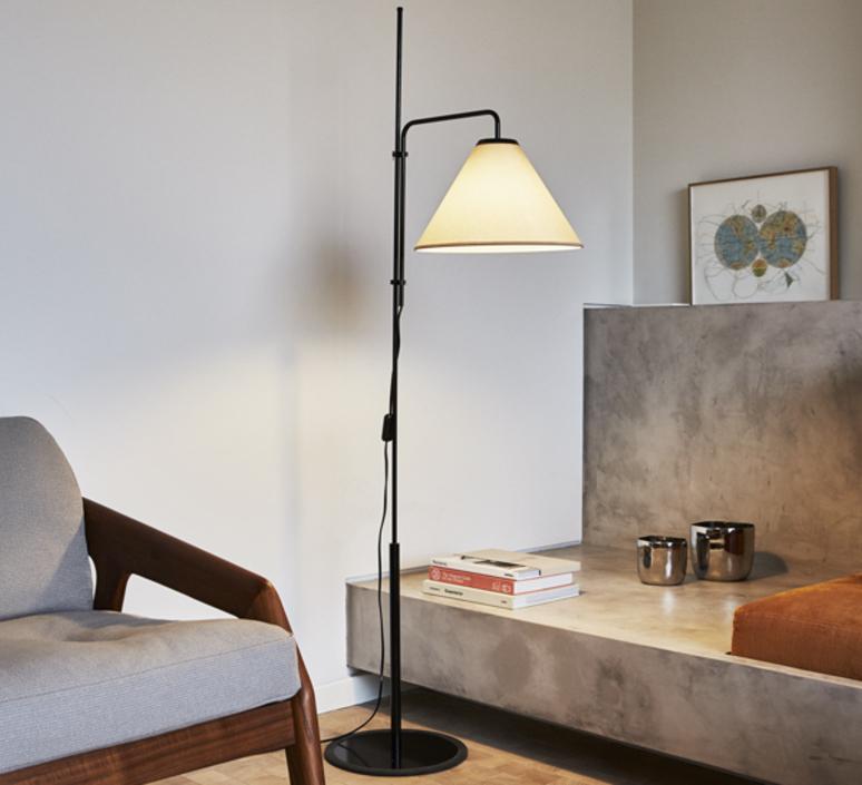 Funiculi fabric lluis porqueras lampadaire floor light  marset a641 402  design signed 61685 product