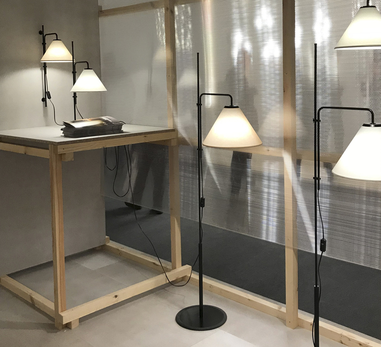 Funiculi fabric lluis porqueras lampadaire floor light  marset a641 402  design signed 61687 product