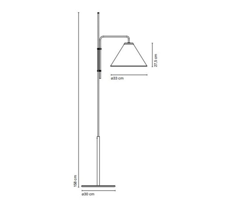 Funiculi fabric lluis porqueras lampadaire floor light  marset a641 402  design signed 61688 product