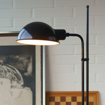 Lampadaire funiculi noir h135cm marset normal
