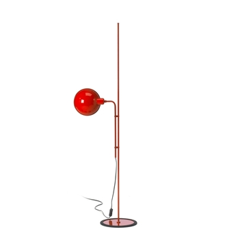 Lampadaire funiculi rouge h135cm marset normal