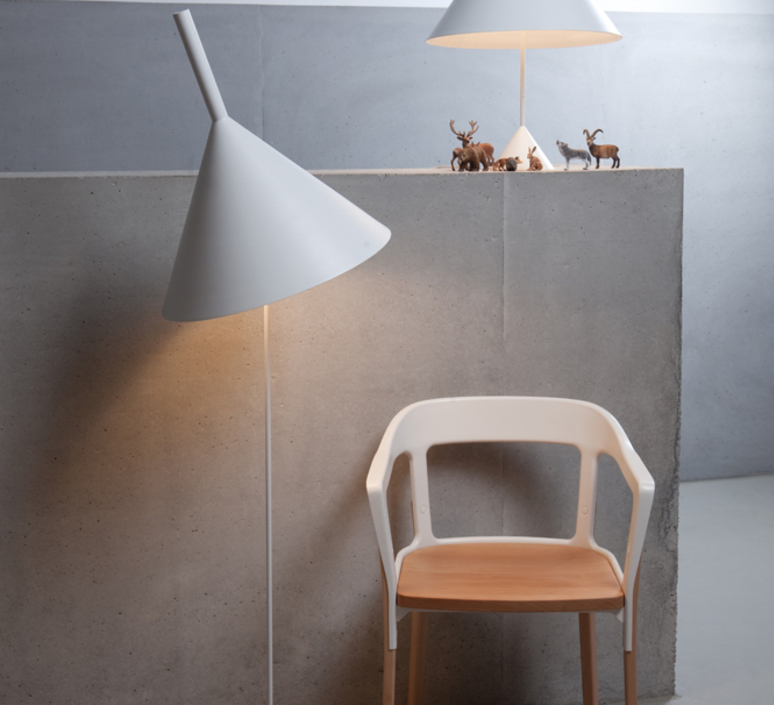 Funnel matija bevk lampadaire floor light  vertigo bird v04014 5201  design signed 50169 product