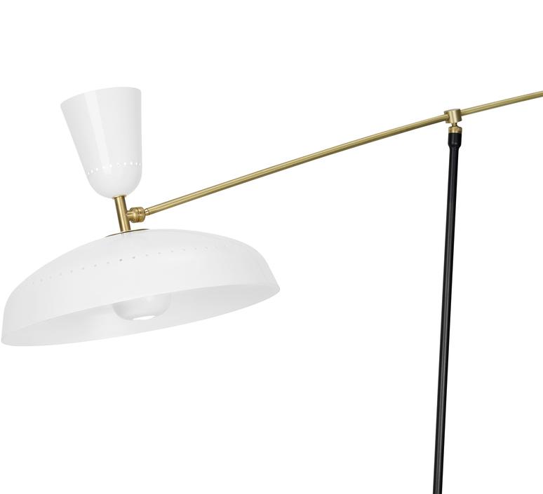G1 guariche large pierre guariche lampadaire floor light  sammode g1fl wh wh  design signed nedgis 84374 product