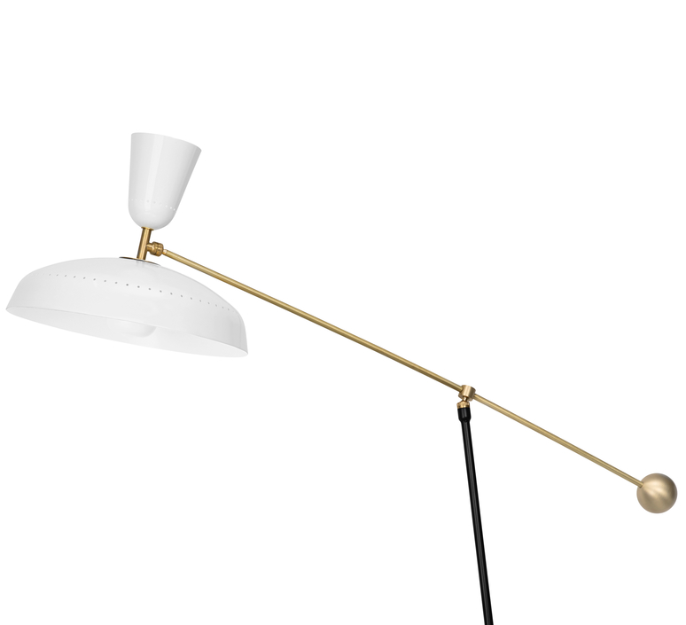 G1 guariche large pierre guariche lampadaire floor light  sammode g1fl wh wh  design signed nedgis 84375 product