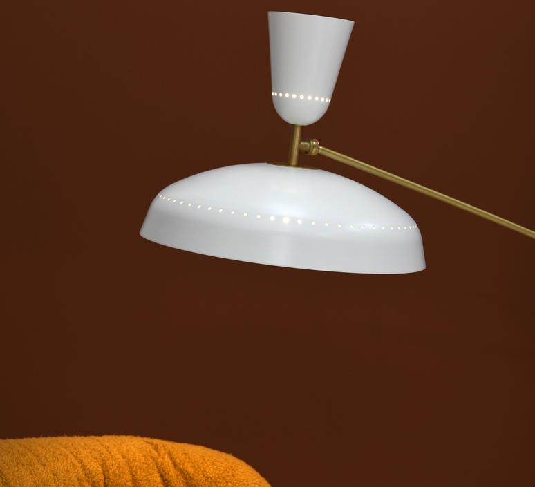 G1 guariche large pierre guariche lampadaire floor light  sammode g1fl wh wh  design signed nedgis 84376 product