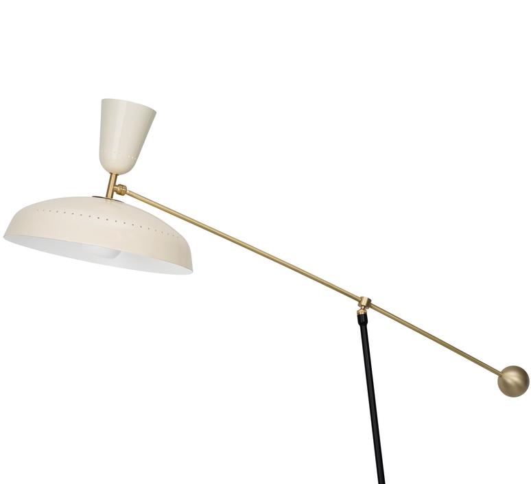 G1 guariche large pierre guariche lampadaire floor light  sammode g1fl ch wh  design signed nedgis 84385 product