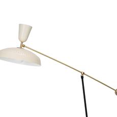 G1 guariche large pierre guariche lampadaire floor light  sammode g1fl ch wh  design signed nedgis 84385 thumb