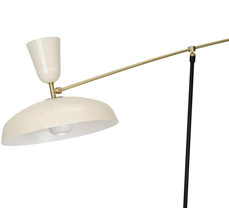 G1 guariche large pierre guariche lampadaire floor light  sammode g1fl ch wh  design signed nedgis 84386 product