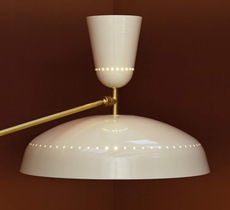 G1 guariche large pierre guariche lampadaire floor light  sammode g1fl ch wh  design signed nedgis 84387 product