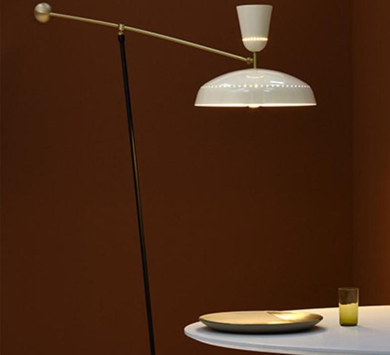 G1 guariche large pierre guariche lampadaire floor light  sammode g1fl ch wh  design signed nedgis 84390 product