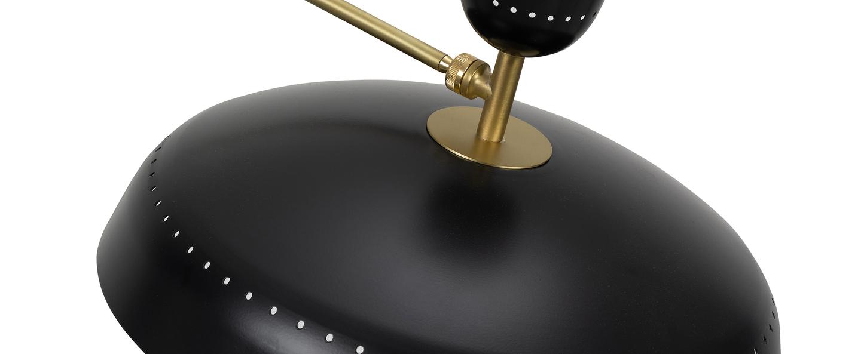 Lampadaire g1 guariche large noir l115cm h175cm sammode normal