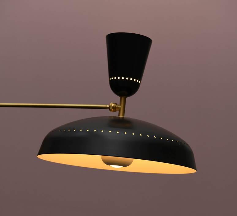 G1 guariche large pierre guariche lampadaire floor light  sammode g1fl bk wh  design signed nedgis 84414 product