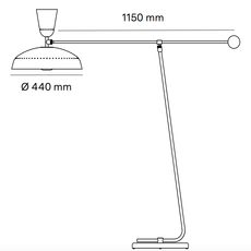 G1 guariche small pierre guariche lampadaire floor light  sammode g1f wh wh  design signed nedgis 84364 thumb