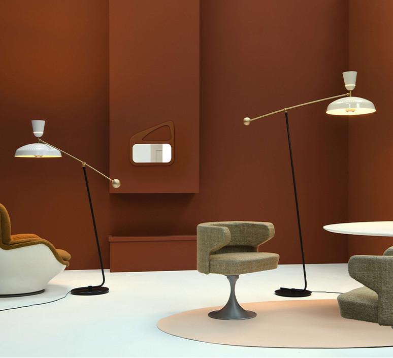 G1 guariche small pierre guariche lampadaire floor light  sammode g1f wh wh  design signed nedgis 84369 product