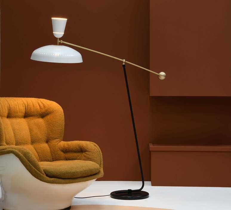 G1 guariche small pierre guariche lampadaire floor light  sammode g1f wh wh  design signed nedgis 84370 product