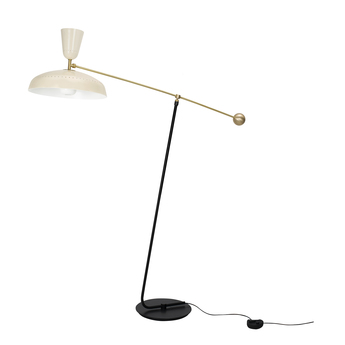 Lampadaire g1 guariche small craie l115cm h120cm sammode normal