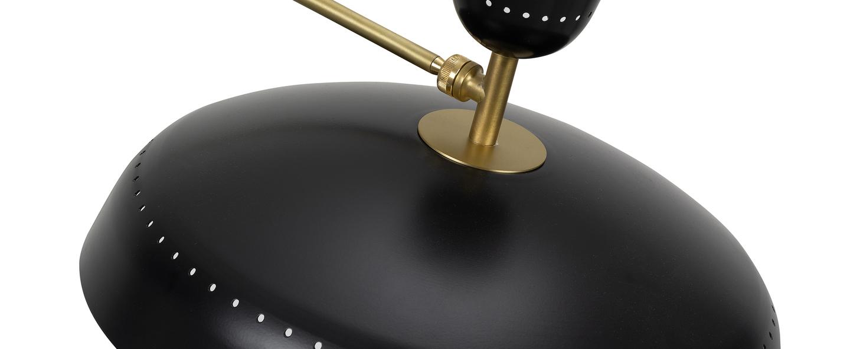 Lampadaire g1 guariche small noir l115cm h120cm sammode normal
