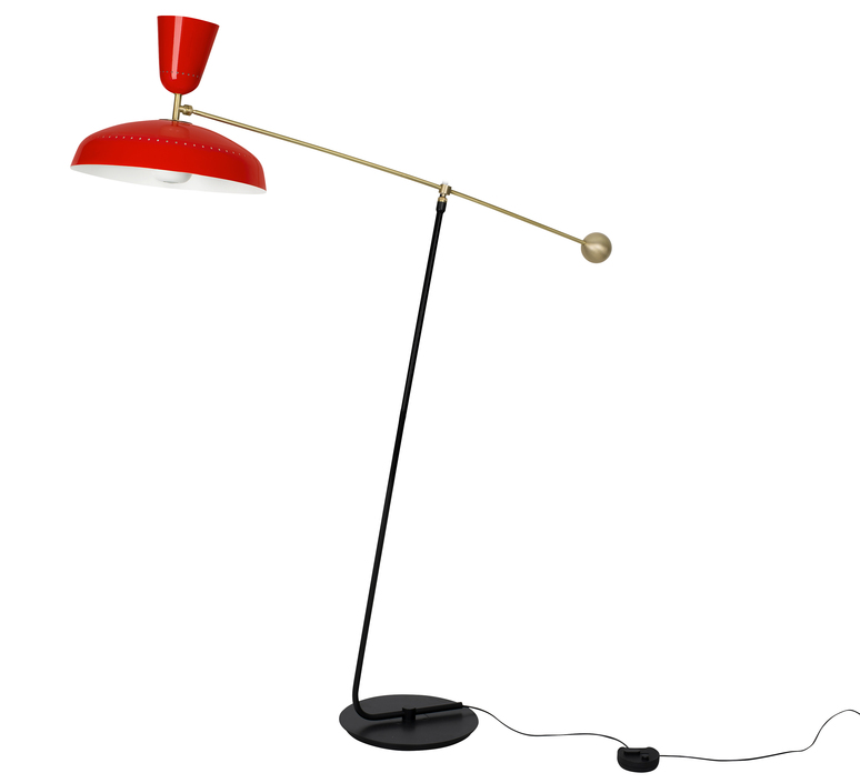 G1 guariche small pierre guariche lampadaire floor light  sammode g1f vr wh  design signed nedgis 84396 product