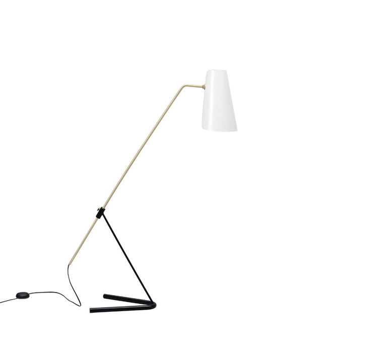 G21 pierre guariche lampadaire floor light  sammode g21 white and black  design signed nedgis 64902 product