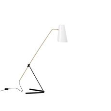 G21 pierre guariche lampadaire floor light  sammode g21 white and black  design signed nedgis 64902 thumb