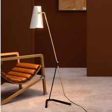 G21 pierre guariche lampadaire floor light  sammode g21 white and black  design signed nedgis 66312 thumb