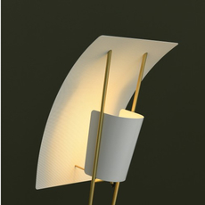 G30 pierre guariche lampadaire floor light  sammode g30 white and white  design signed nedgis 64946 thumb
