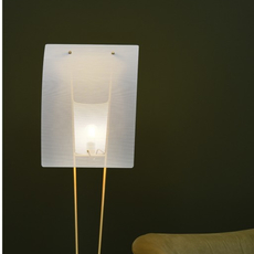 G30 pierre guariche lampadaire floor light  sammode g30 white and white  design signed nedgis 64947 thumb