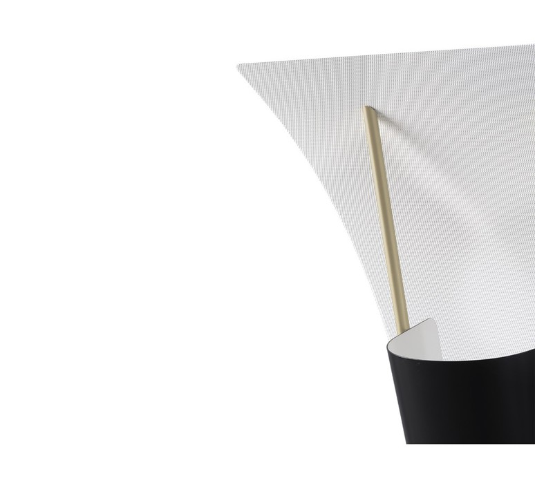 G30 pierre guariche lampadaire floor light  sammode g30 black and white  design signed nedgis 64950 product