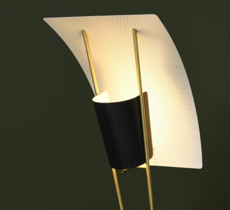 G30 pierre guariche lampadaire floor light  sammode g30 black and white  design signed nedgis 64951 product
