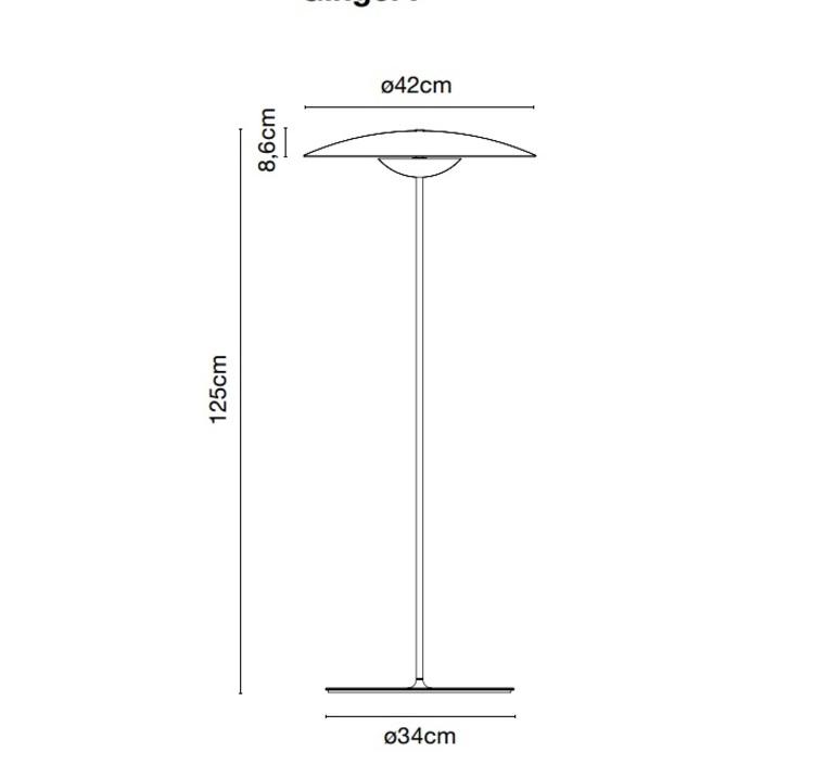 Ginger joan gaspar marset a662 033 luminaire lighting design signed 13944 product